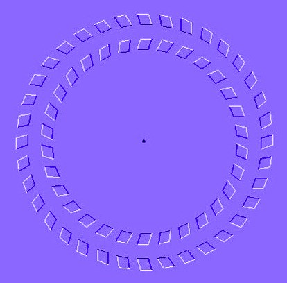 Rotating Rings Illusion