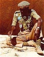 The Lizard Man of Matobo